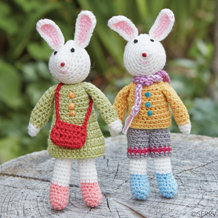 Crocheted Bunnies