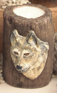 Wolf Candle