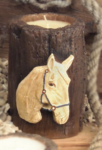 Horse Candle