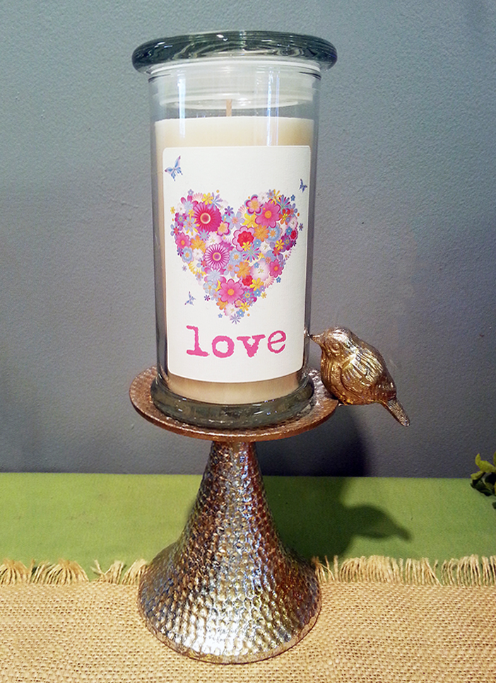 Love Jar Candle