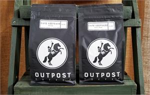 Bags of Café Keepsake coffee