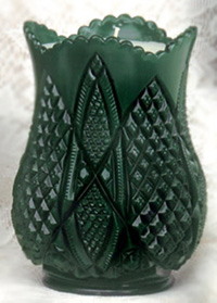Scalloped Six-Point Celery Vase