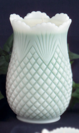 Pineapple Celery Vase Candle